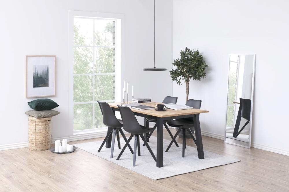 Jídelní stůl rozkládací Nadida 160/250 cm dýhové desky