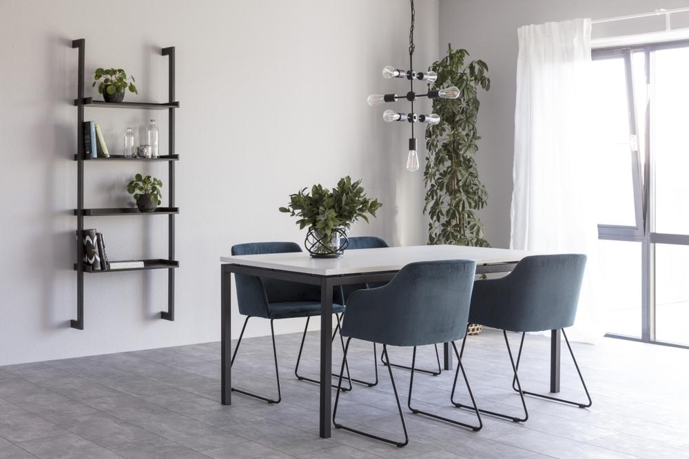 Jídelní stůl rozkládací Nahia 160/210 cm bílý