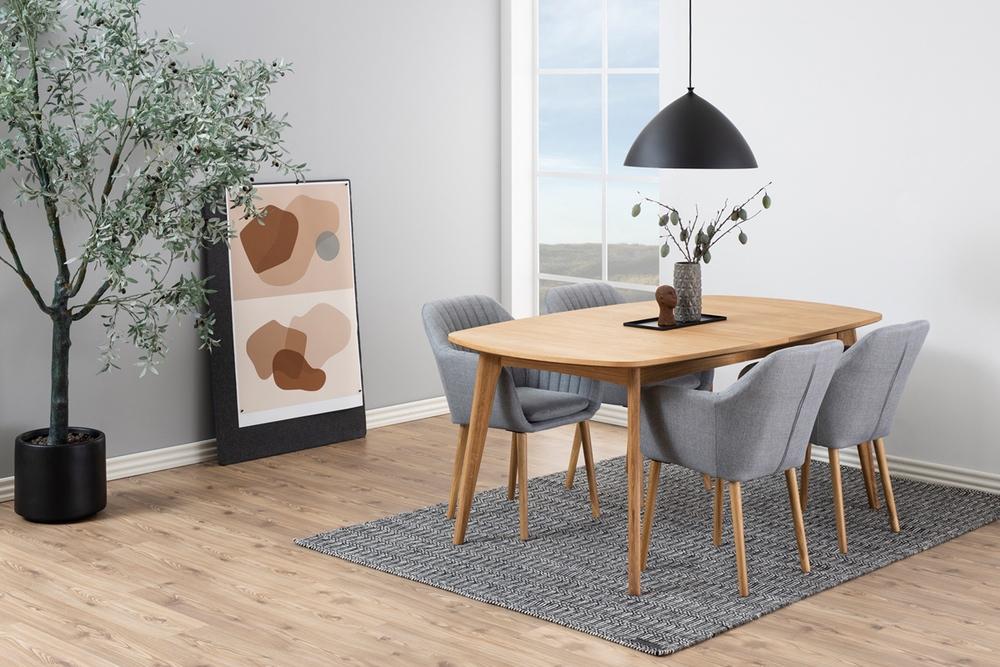 Jídelní stůl rozkládací Nahla 180/270 cm dub