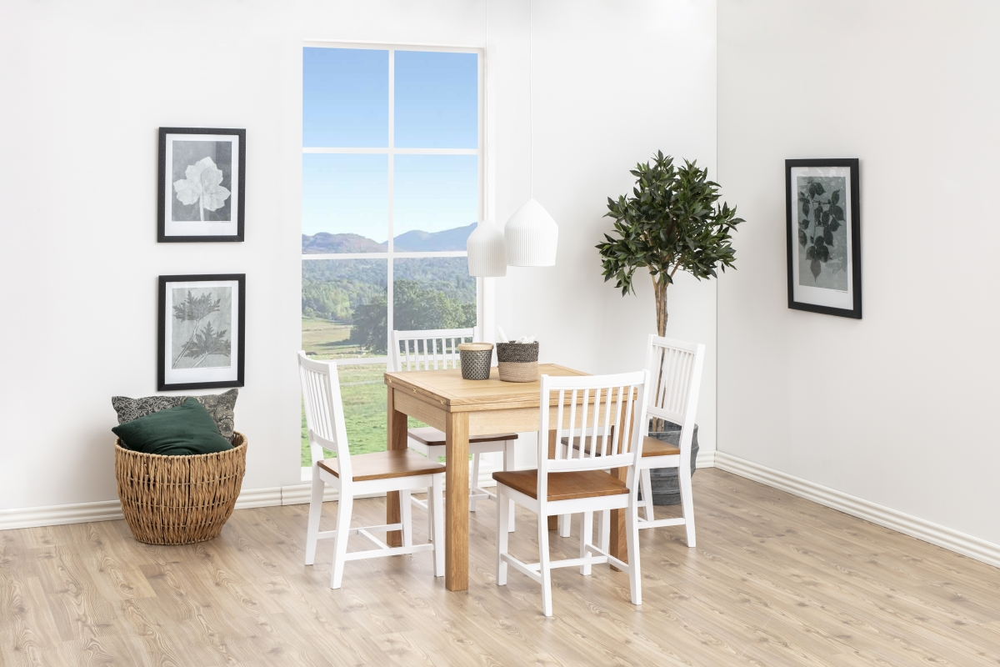 Jídelní stůl rozkládací Nefeli 80/160 cm dub