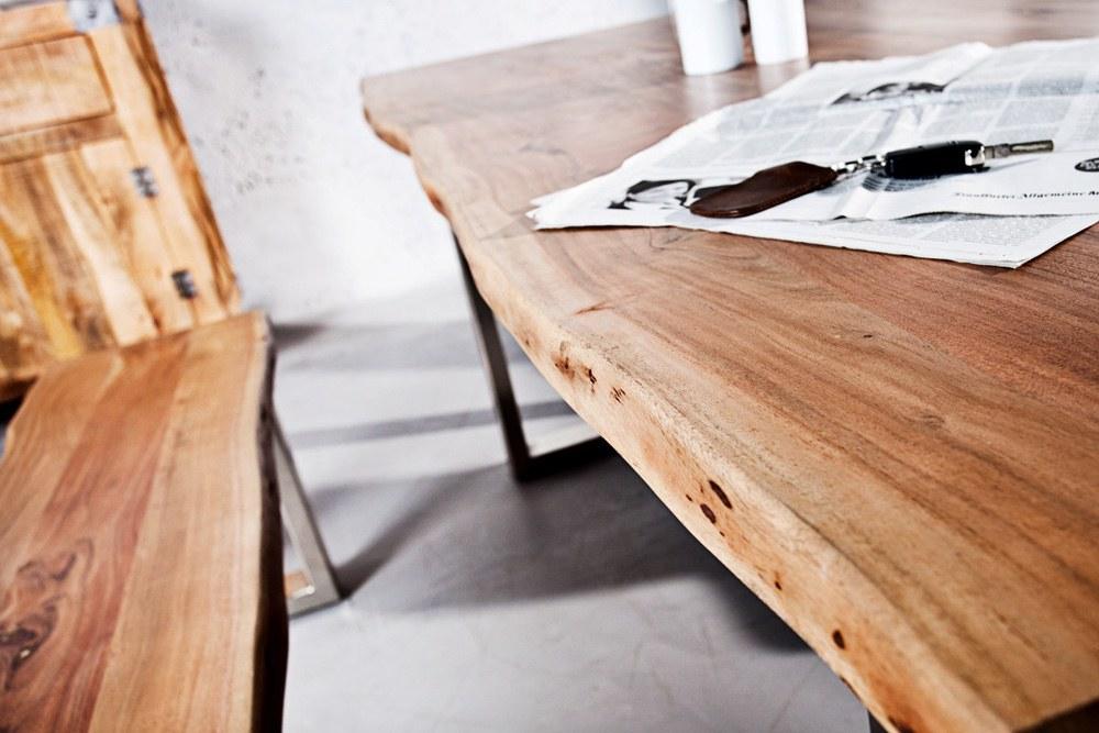 Jídelní stůl Massive 180 cm - tloušťka 35 mm - akácie
