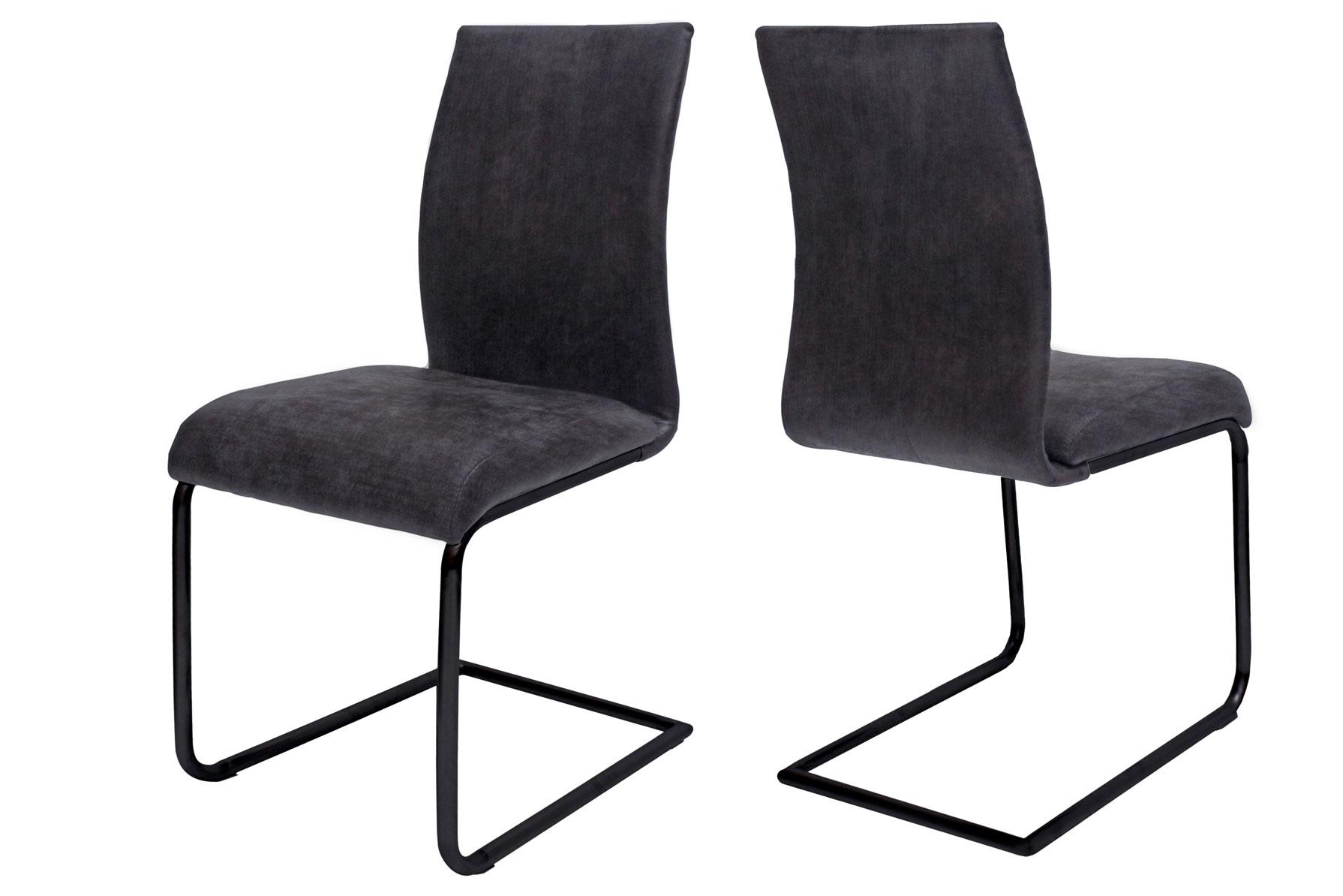 Jídelní židle Gwan / šedo-černá