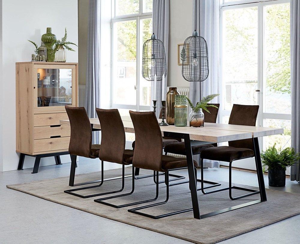Jídelní židle Gwan velur / různé barvy