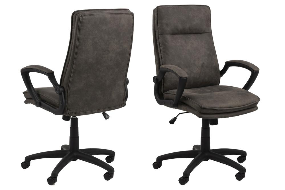 Kancelářská židle Nastassia antracitová