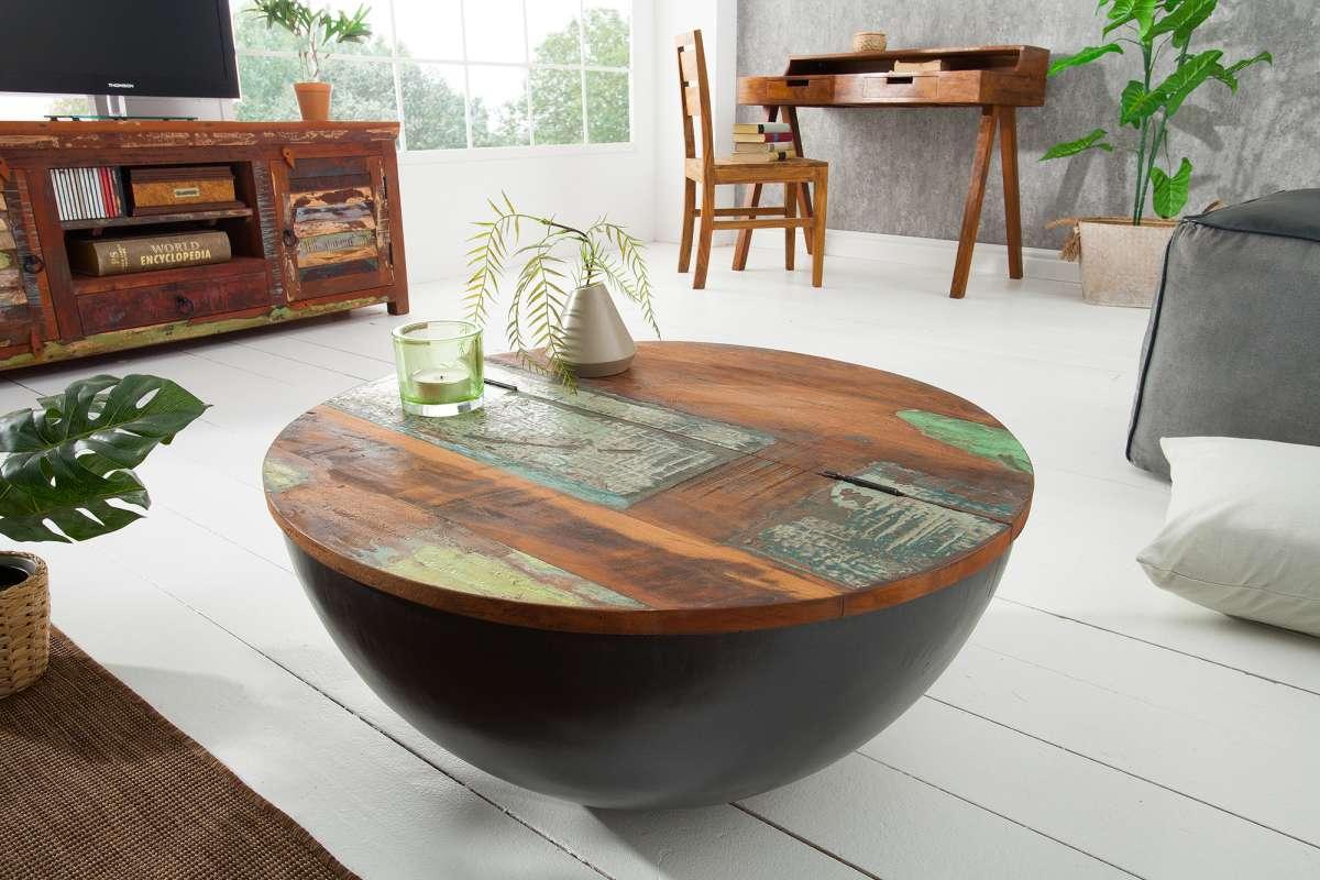 Konferenční stolek Jacktar 70cm šedý