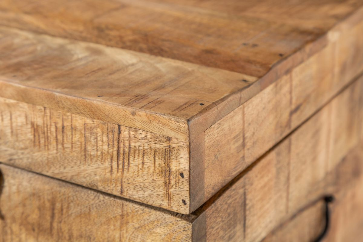 Konferenční stolek - truhla Unity Loft 115 cm mango