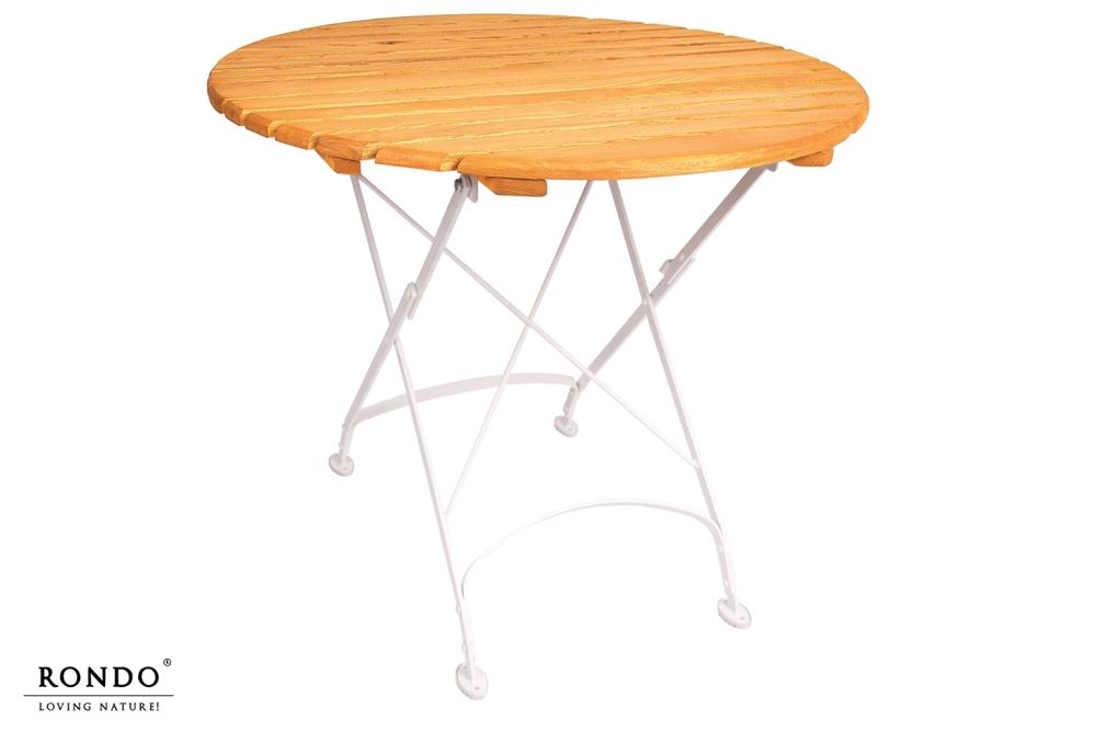 Kulatý zahradní stůl London průměr 85 cm
