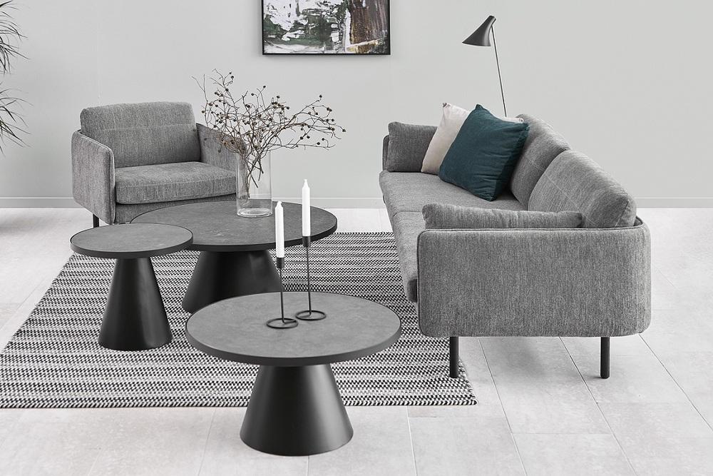 Luxusní konferenční stolek Adolph 85,7 cm