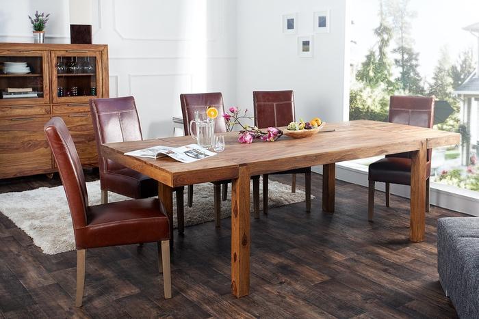 Jídelní stůl z masivu rozkládací Las Palmas 160-240cm