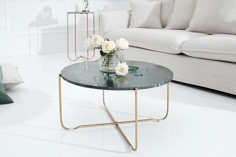 Konferenční stolek Bristol / zelená - otevřené balení