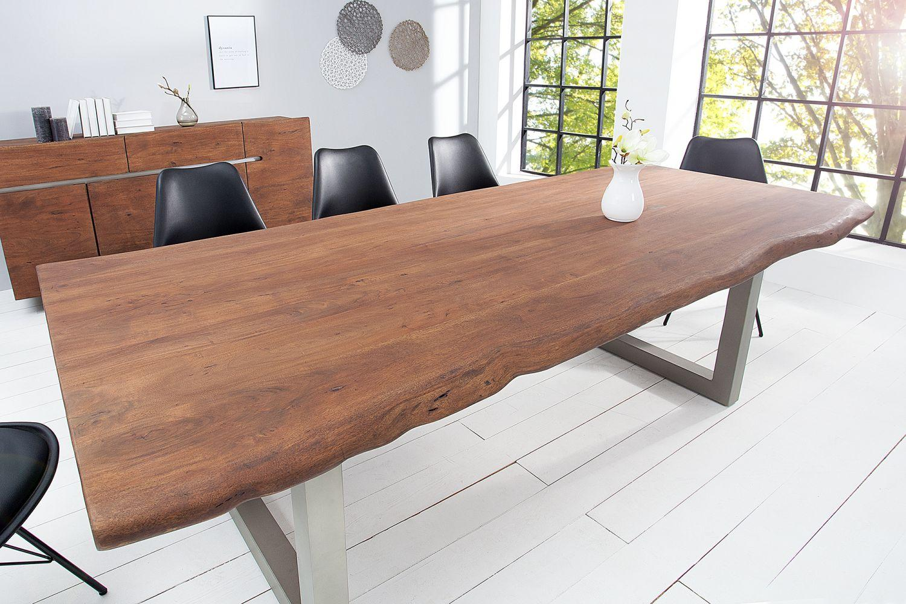 Luxusní jídelní stůl z masivu Massive 200 cm / akácie