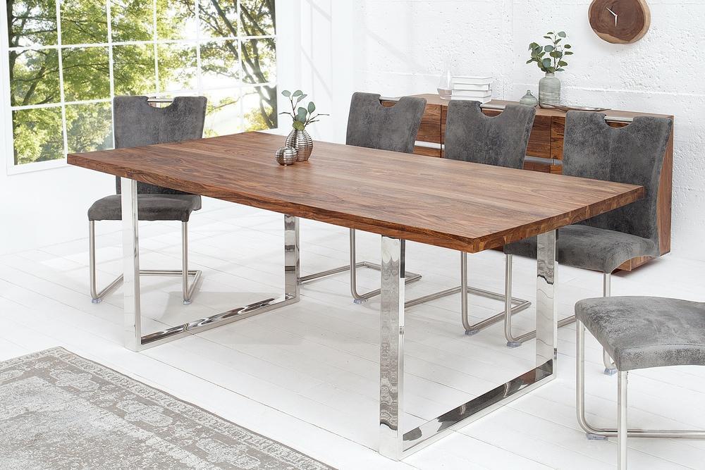 Luxusní jídelní stůl Flame 200cm masiv