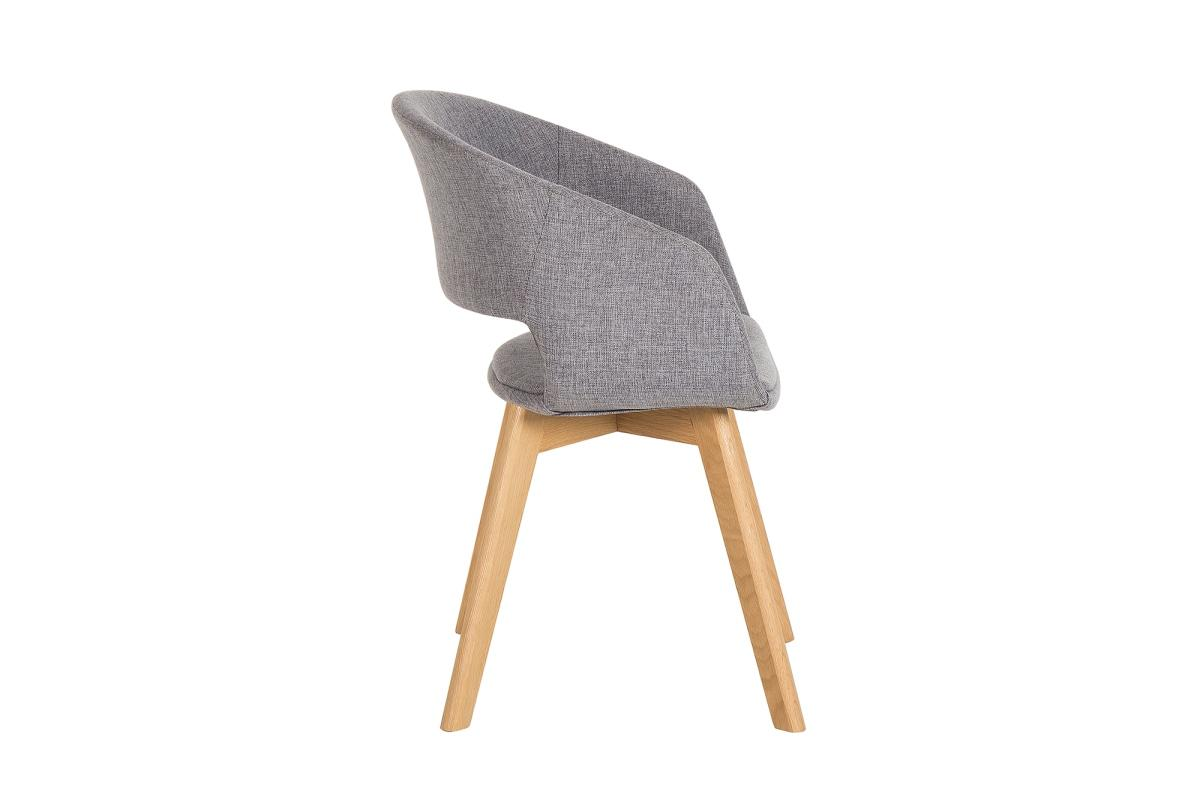 Designová židle Colby šedá