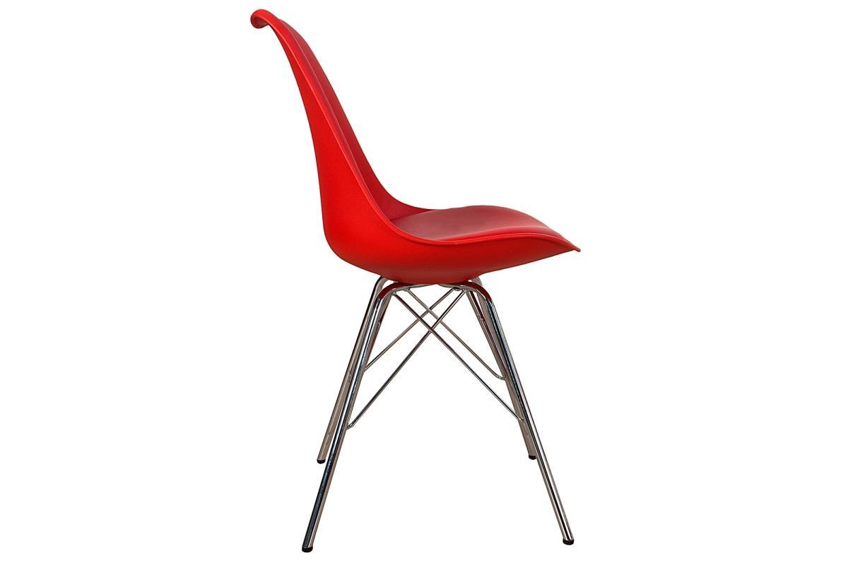 Židle Sweden Retro červená