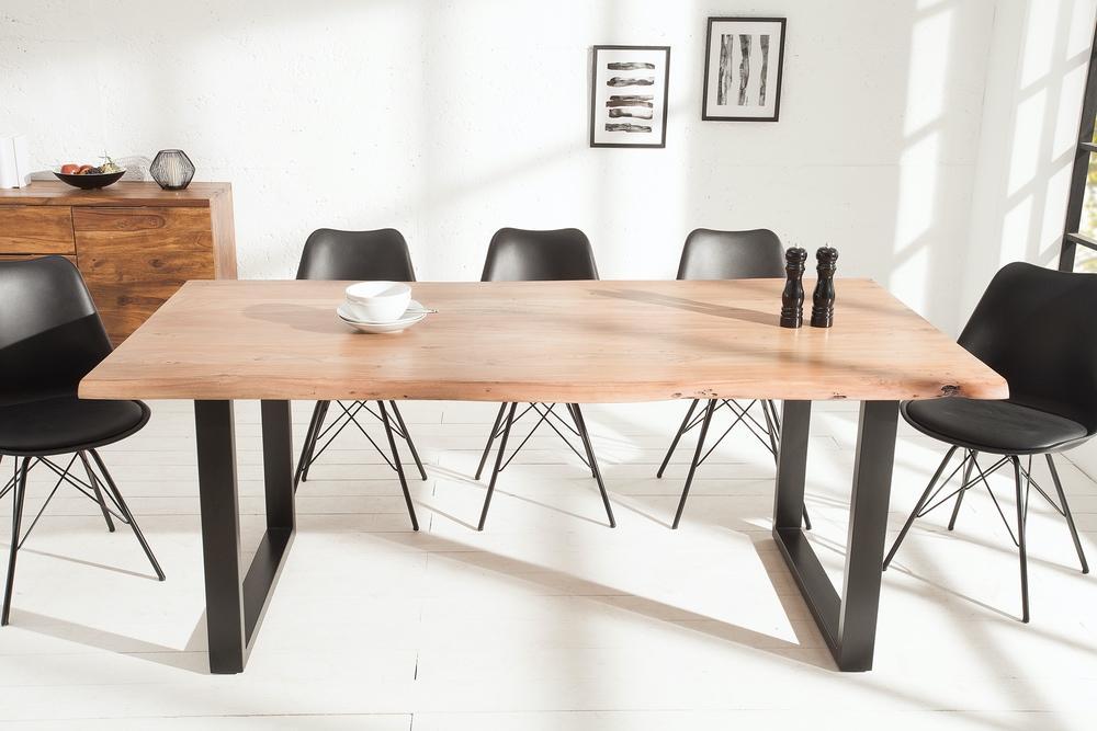 Luxusní jídelní stůl z masivu Massive 200cm Black