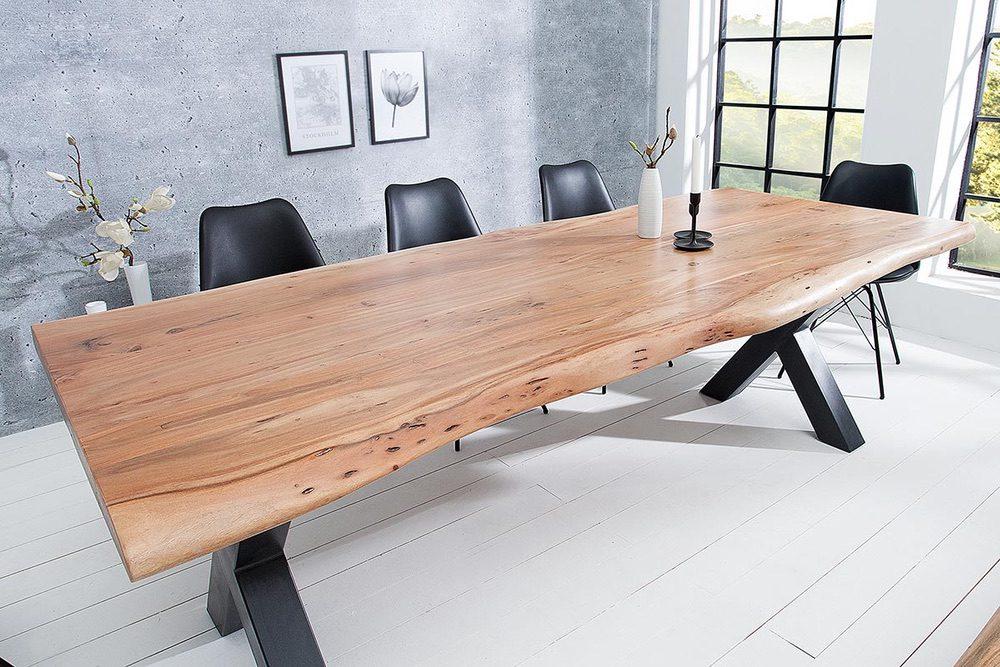 Luxusní jídelní stůl Massive X 240 cm akácie