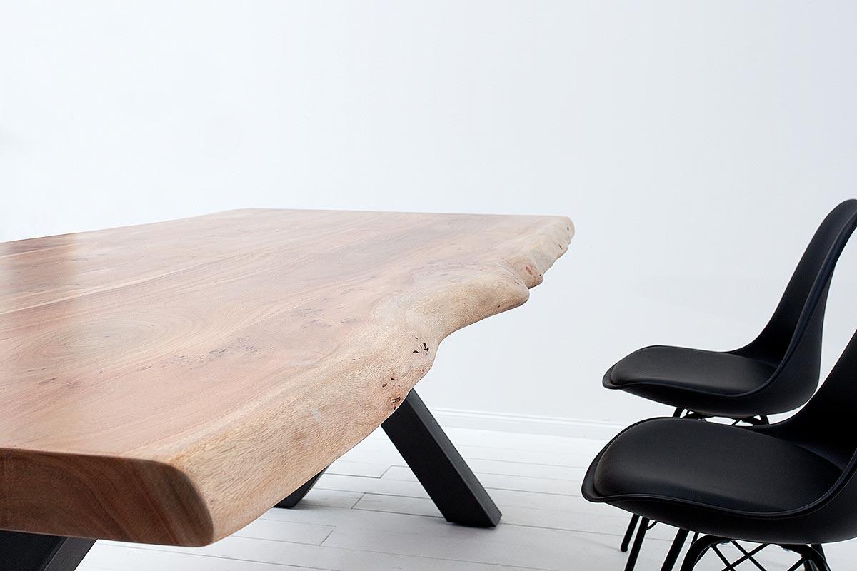 Luxusní jídelní stůl Massive X 160 cm akácie
