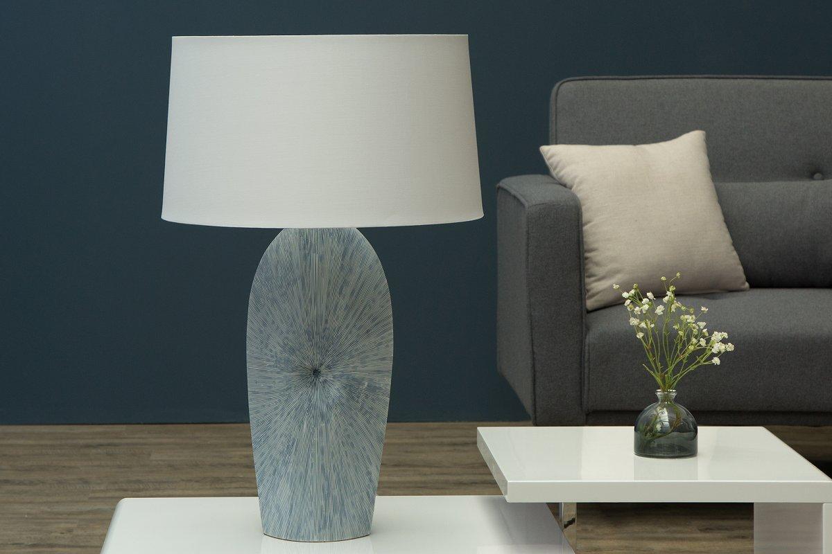 Stolní lampa Phoebe bílá