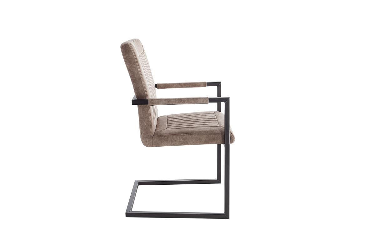 Jídelní židle Madilyn béžová / područky