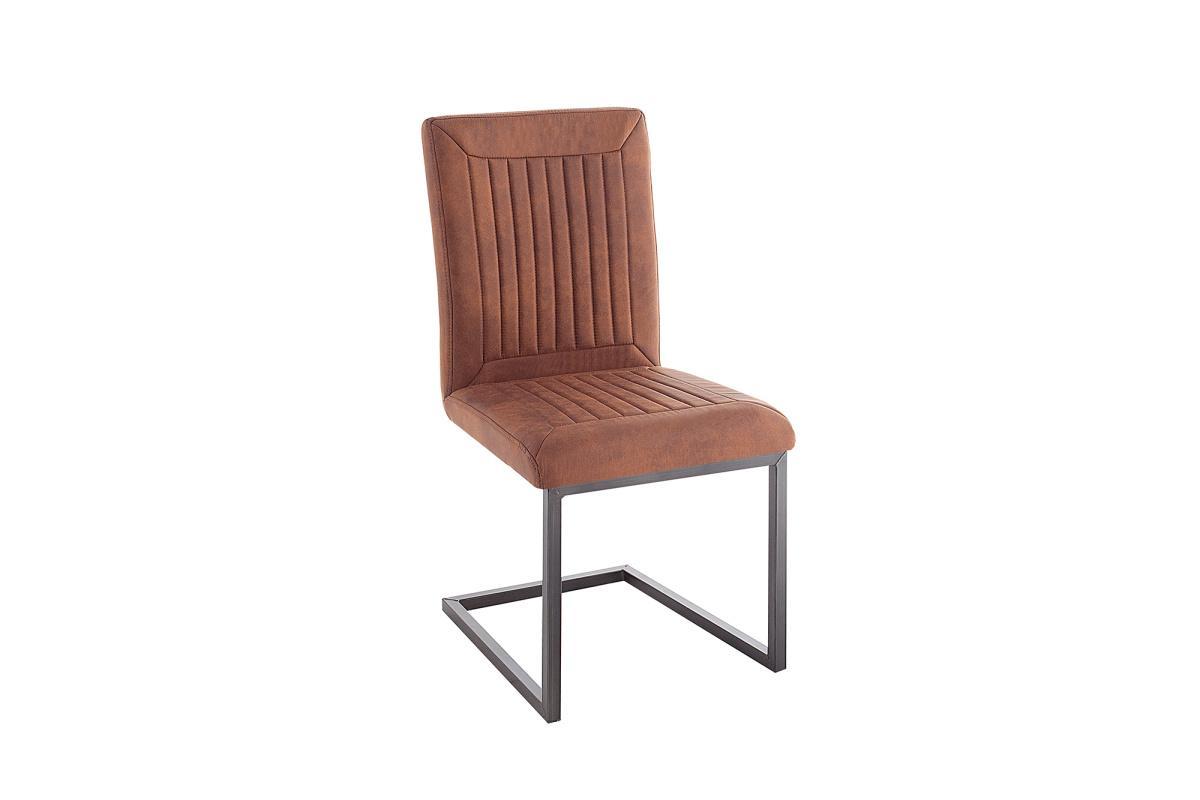 Jídelní židle Madilyn světlehnědá