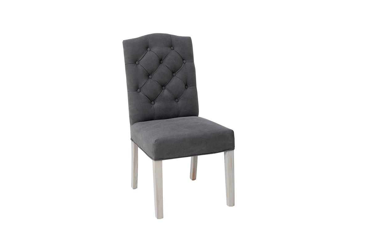 Designová židle Queen šedá