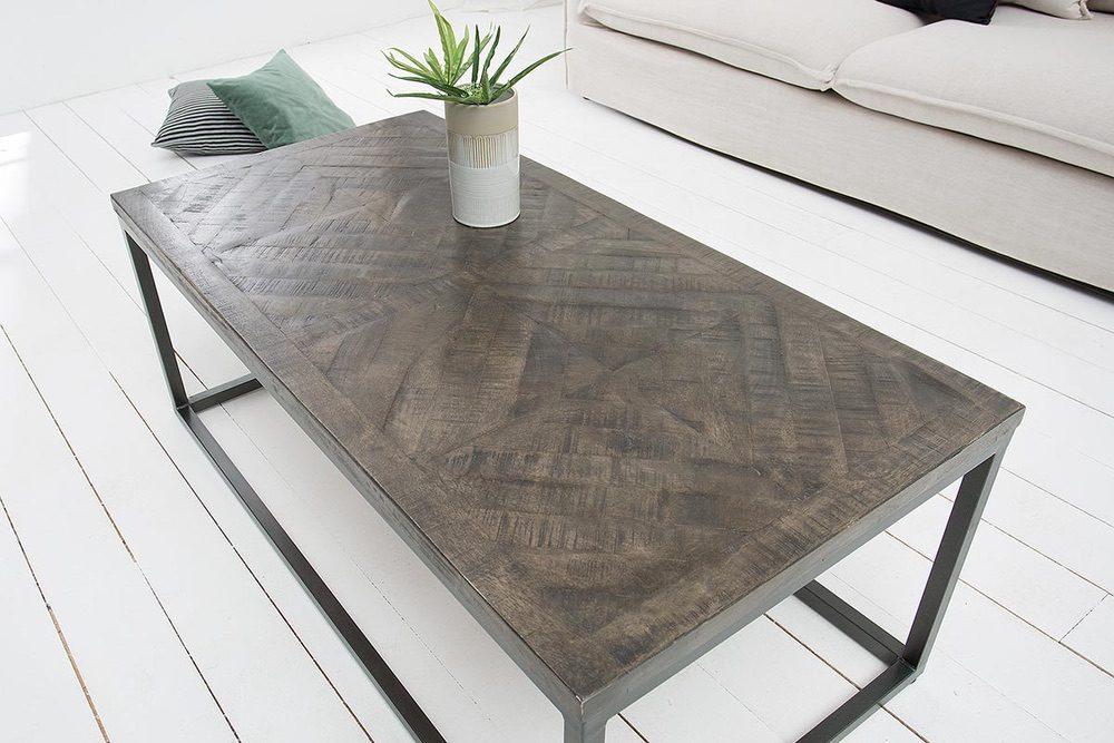 Konferenční stolek Allen šedý