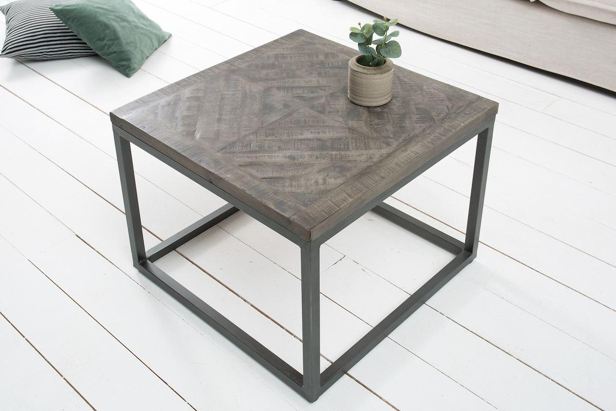 Odkládací stolek Allen šedý 60 cm