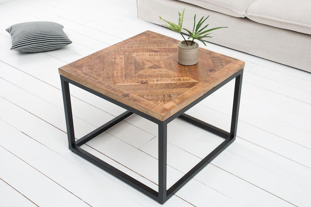 Odkládací stolek Allen přírodní 60 cm
