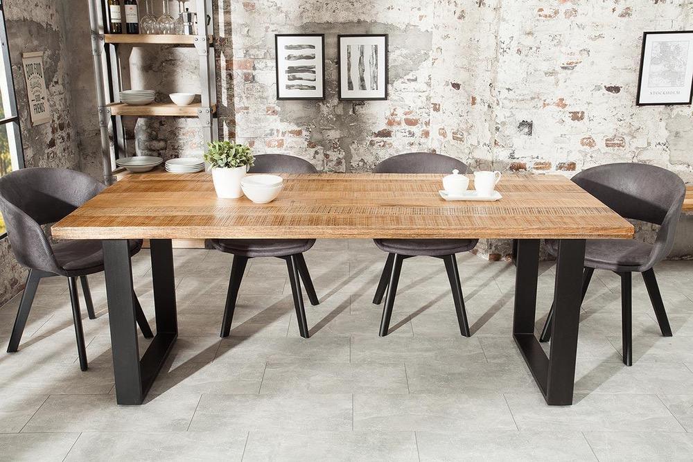 Jídelní stůl Thunder 200 cm mango