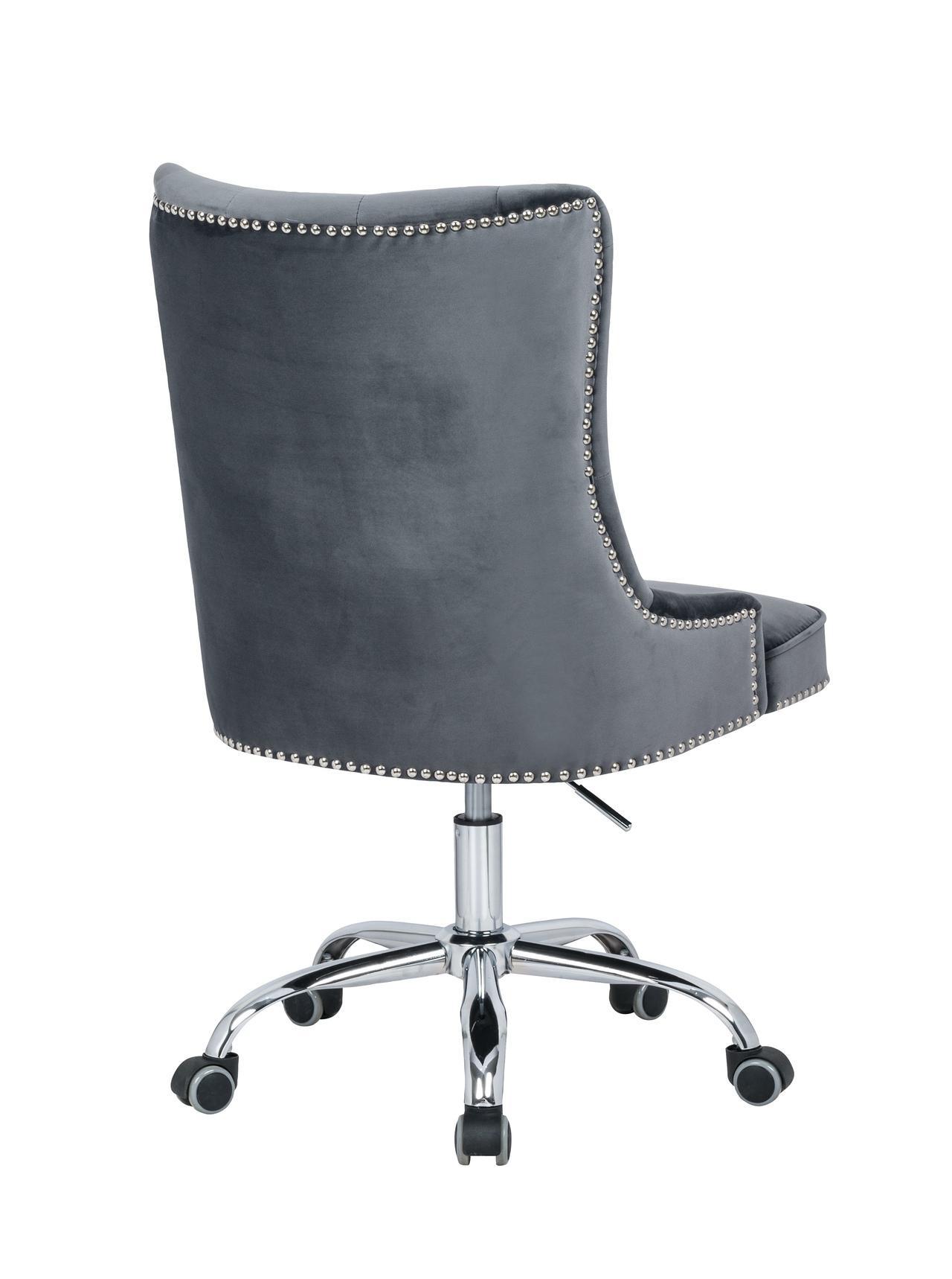 Kancelářská židle Jett stříbrná