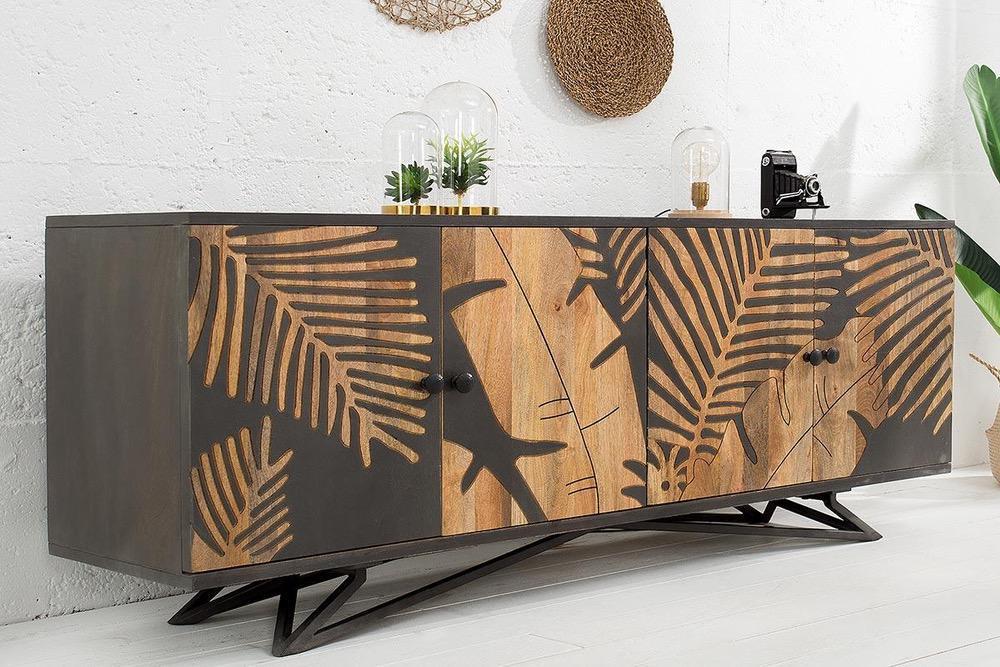 Designová komoda Leland 175 cm mango