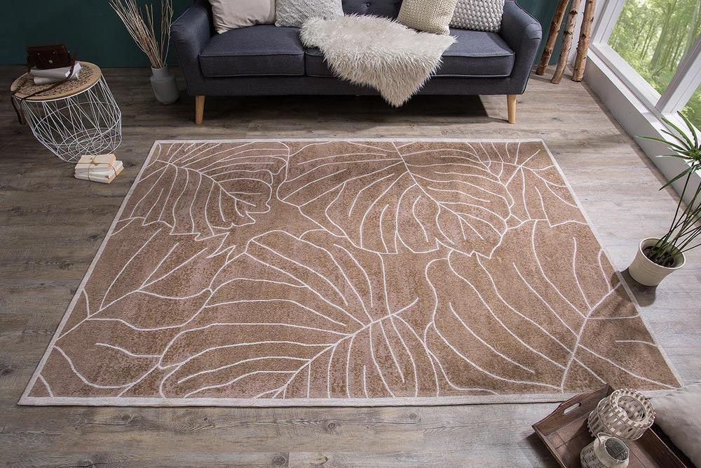 Designový koberec Karina 240x165 hnědý