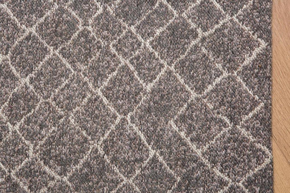 Designový koberec Kelly 240x160 černý / béžový vzor