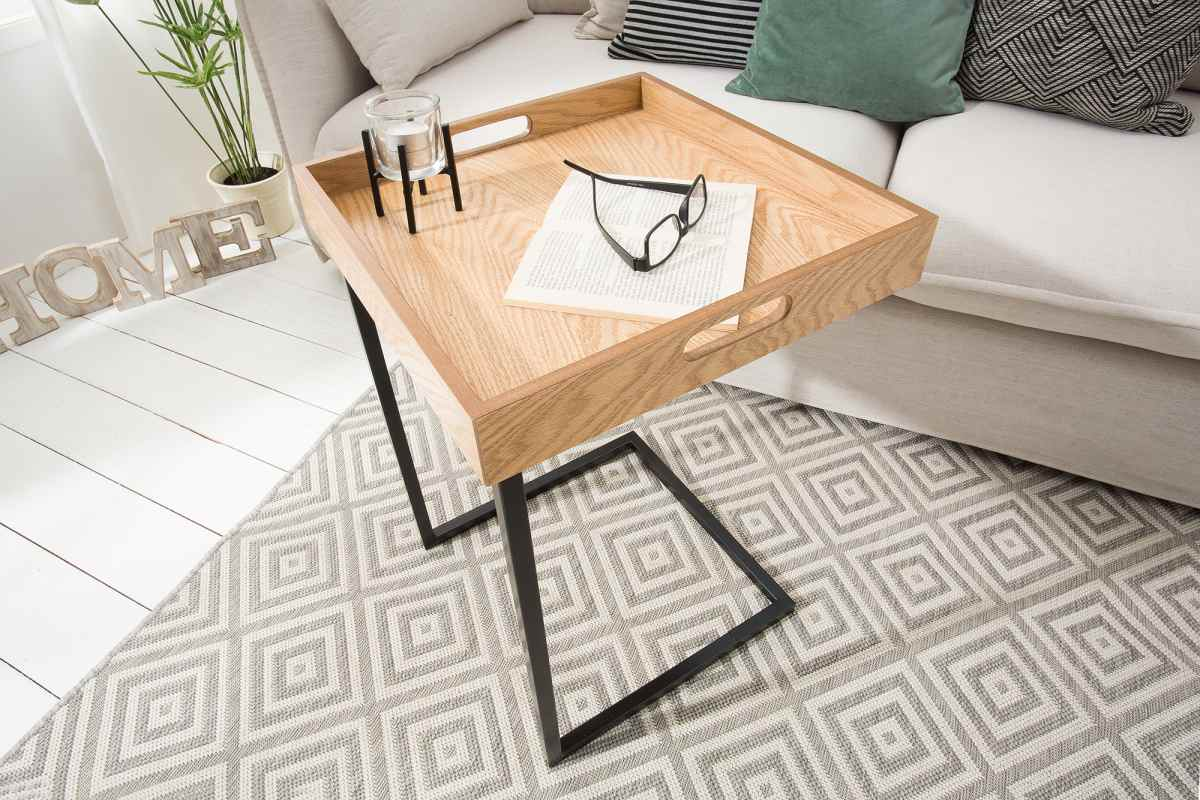 Odkládací stolek Trey dub
