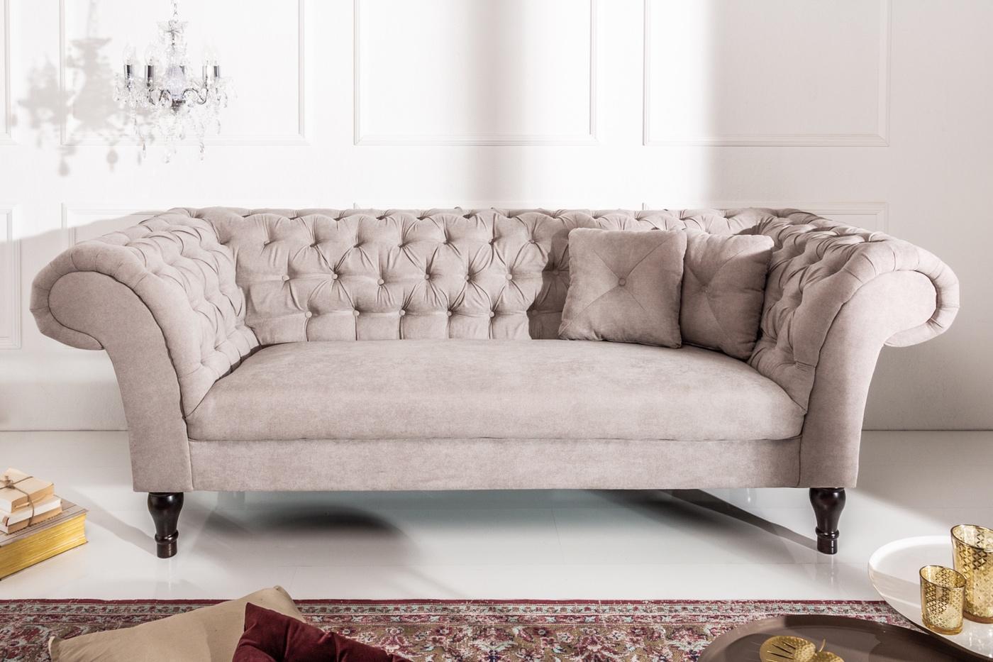 Dizajnová sedačka Rubby 230 cm hnedá