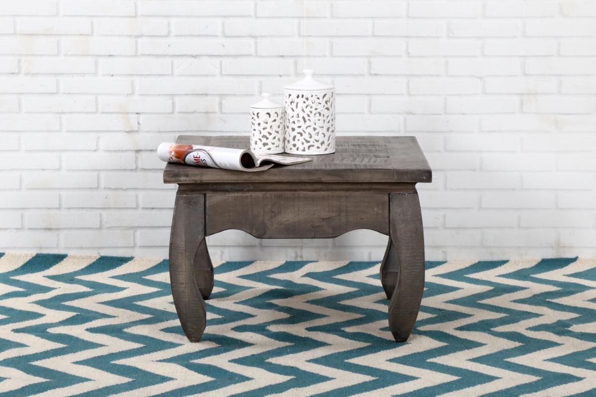 Konferenční stolek Dust Antique 60cm šedé mango