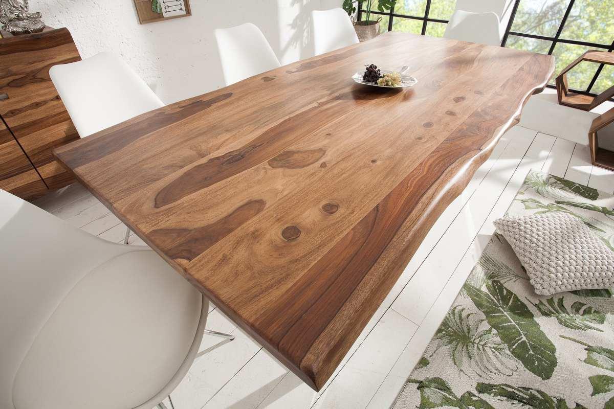 Luxusní jídelní stůl Massive S 180cm Sheesham