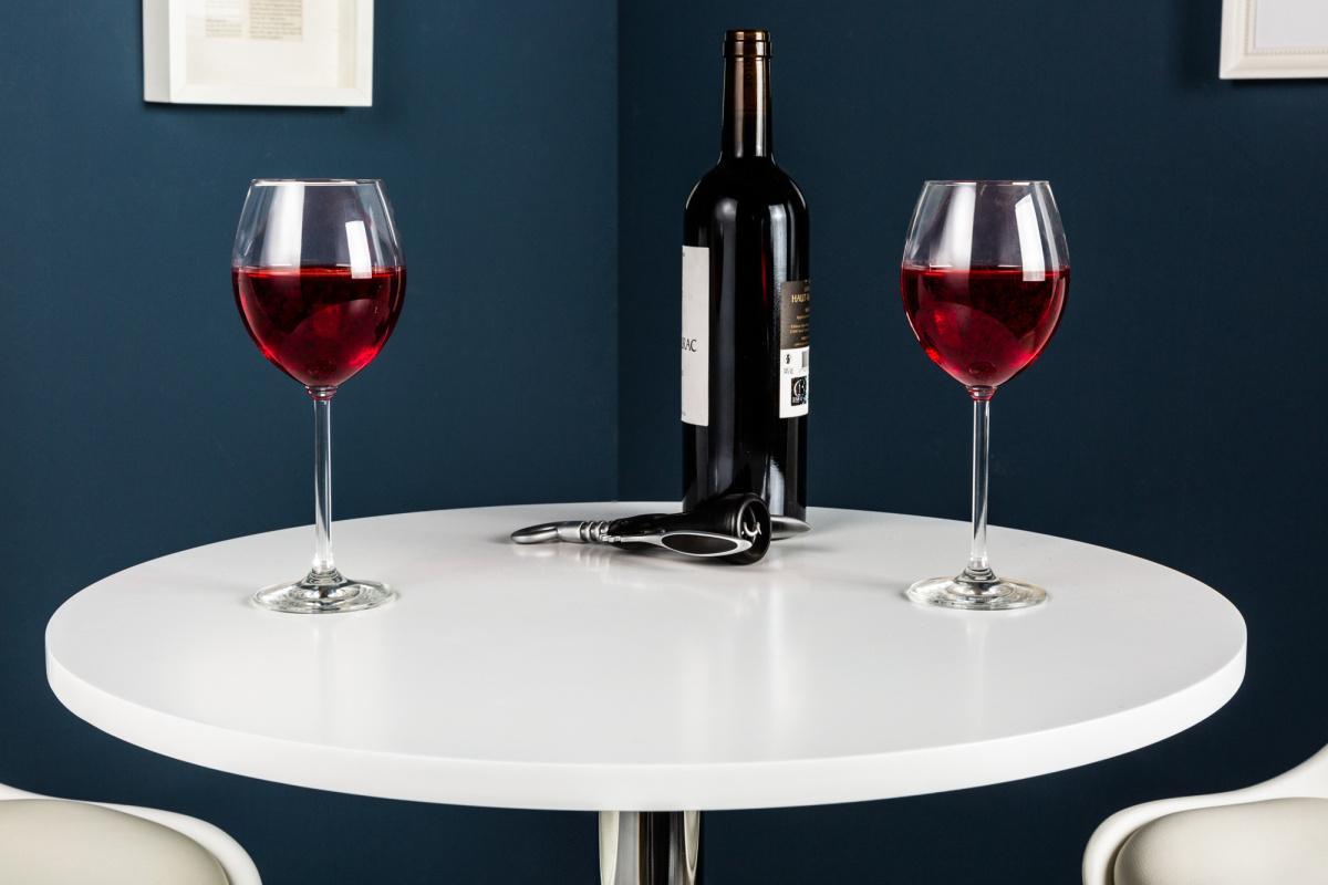 Designový barový stůl Motion bílý
