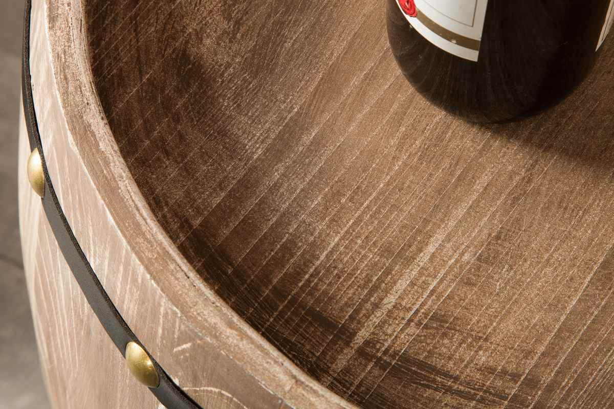 Regál na víno Reed 80 cm, přírodní