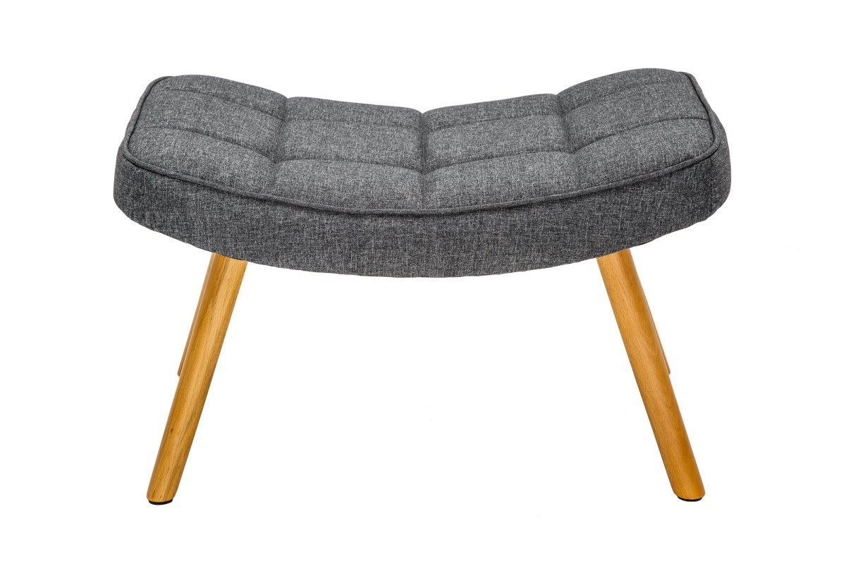 Designová podnožka Sweden, šedá