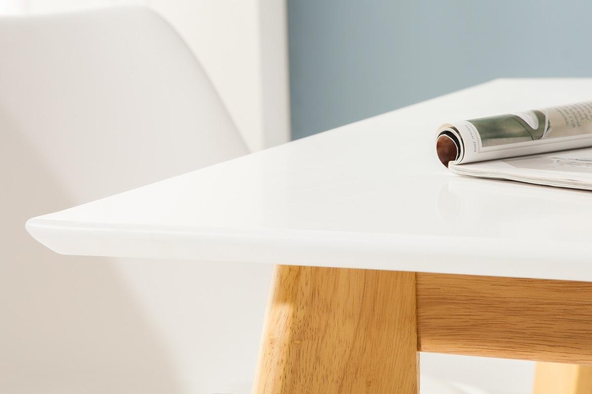 Designový jídelní stůl Sweden, 160 cm, bílý