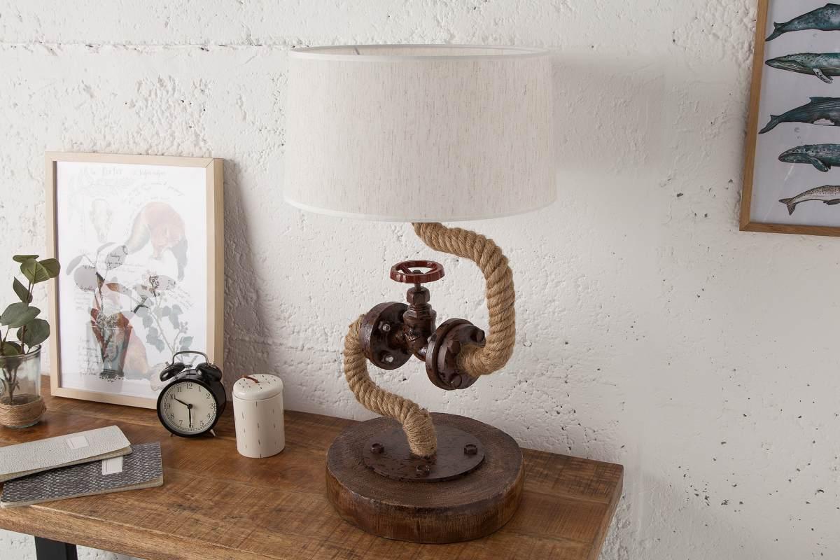 Designová stolní lampa Nikolas, 60 cm