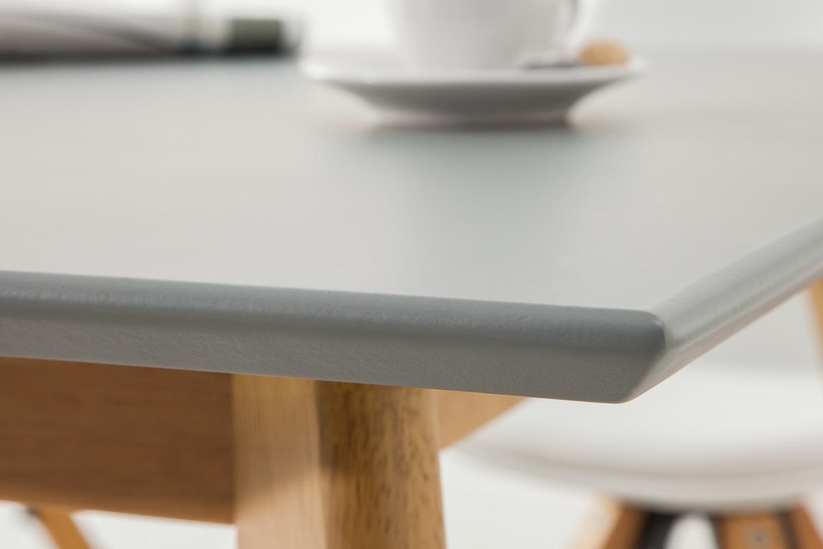 Designový jídelní stůl Sweden, 120 cm, šedý