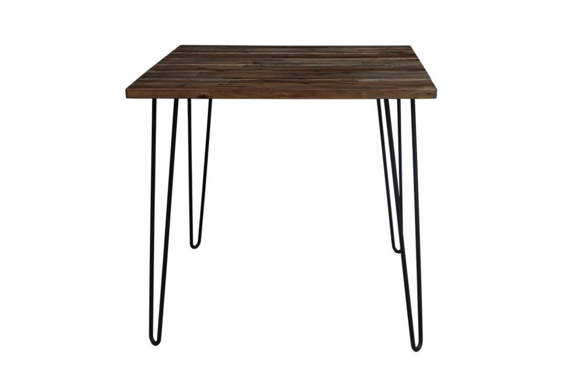 Jídelní stůl Anaya, 80 cm, hnědý