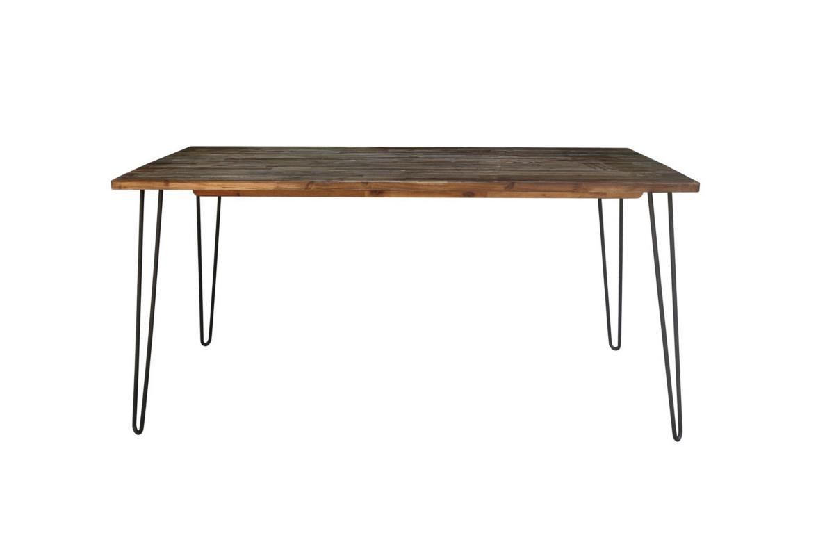 Jídelní stůl Anaya, 160 cm, hnědý