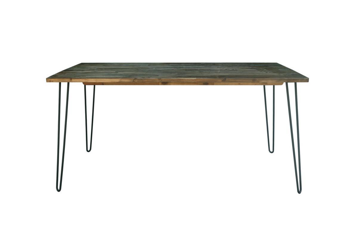 Jídelní stůl Anaya, 160 cm, vintage hnědý