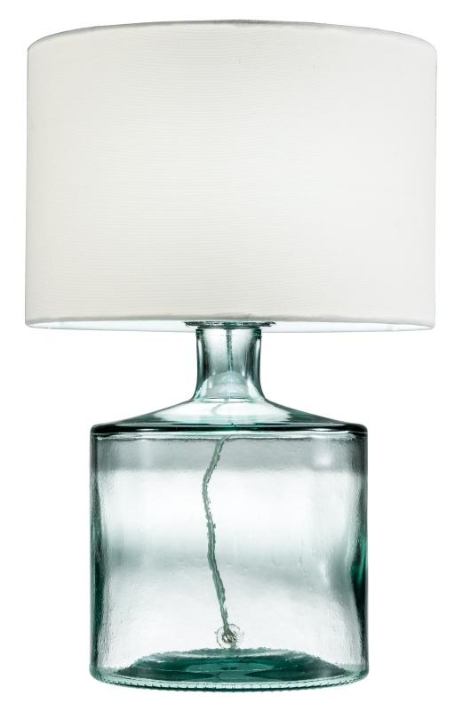 Stolní lampa Dylan, recyklované sklo