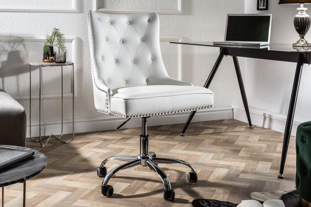 Kancelářská židle Jett bílá