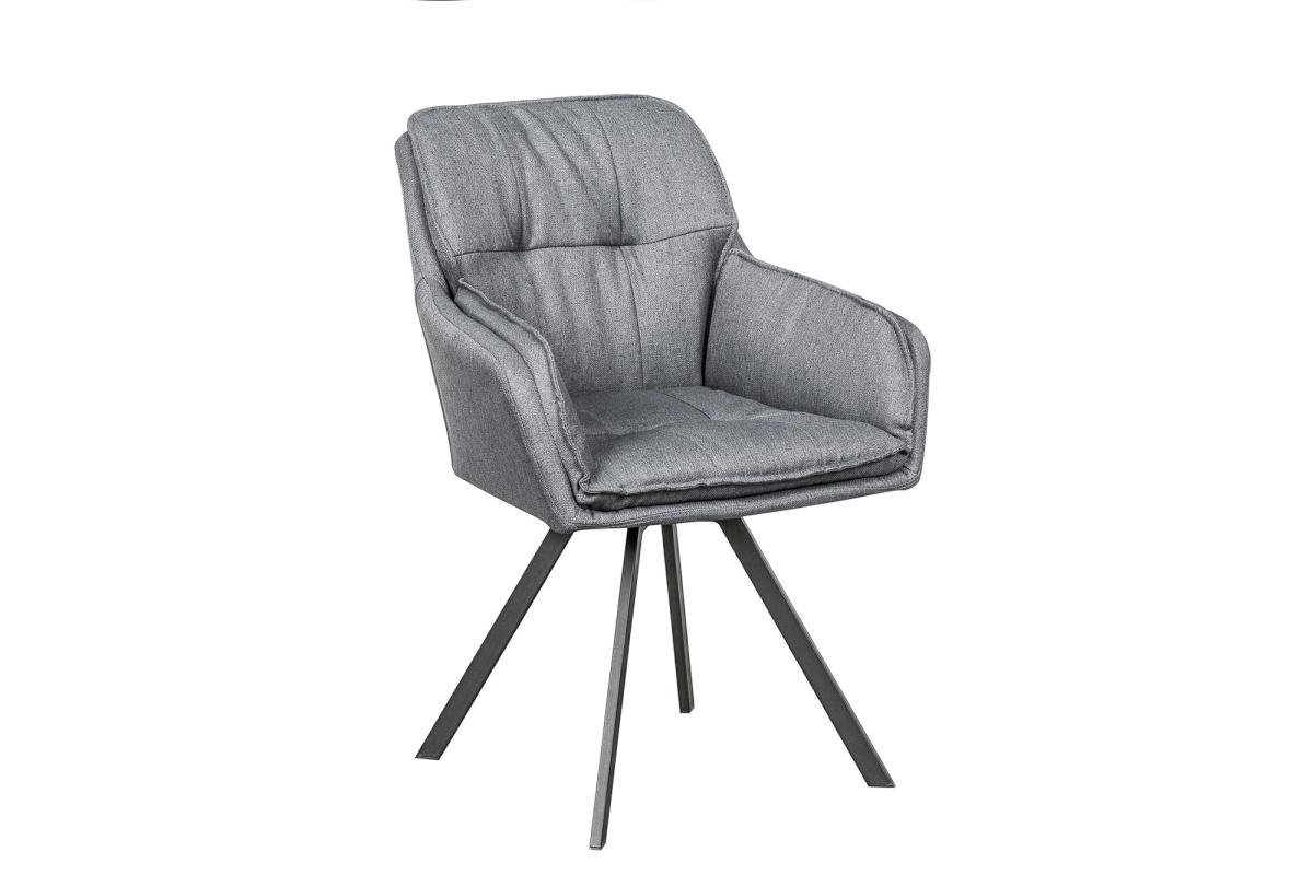 Designová židle Joe, šedá
