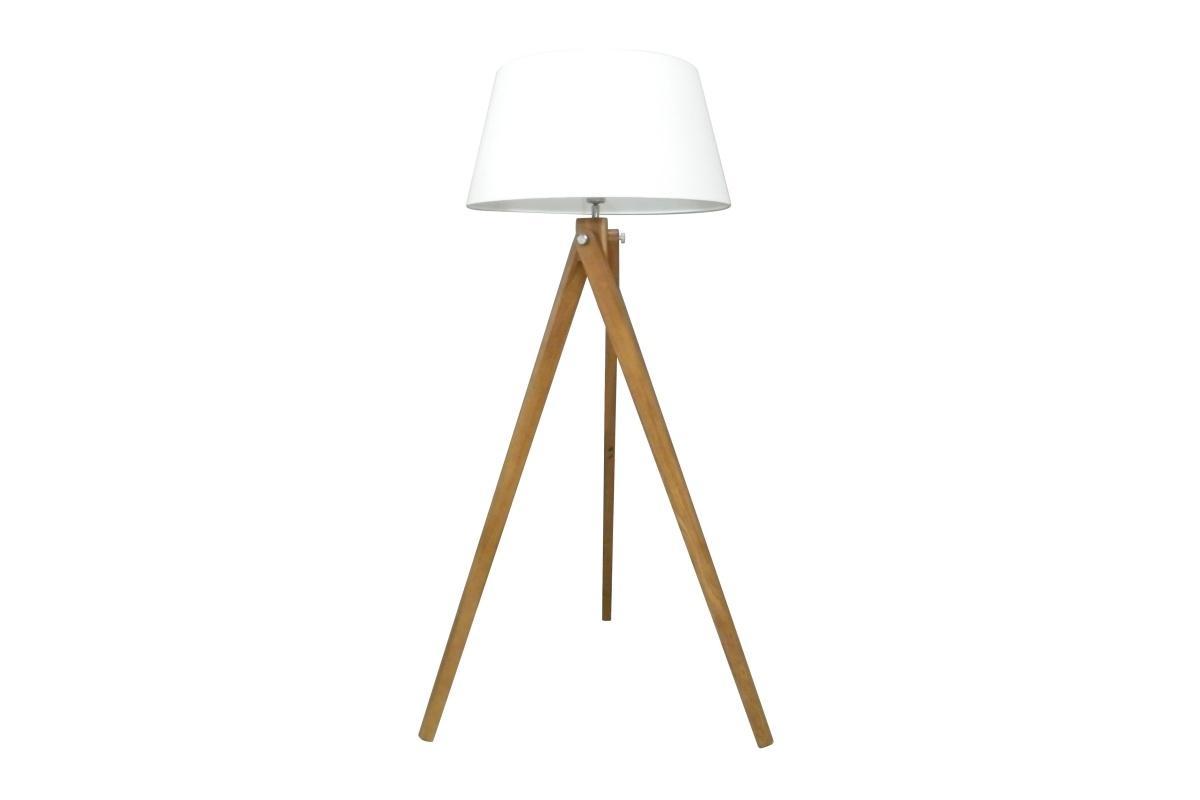 Designová stojanová lampa Dawson, 155 cm, bílá - II. třída